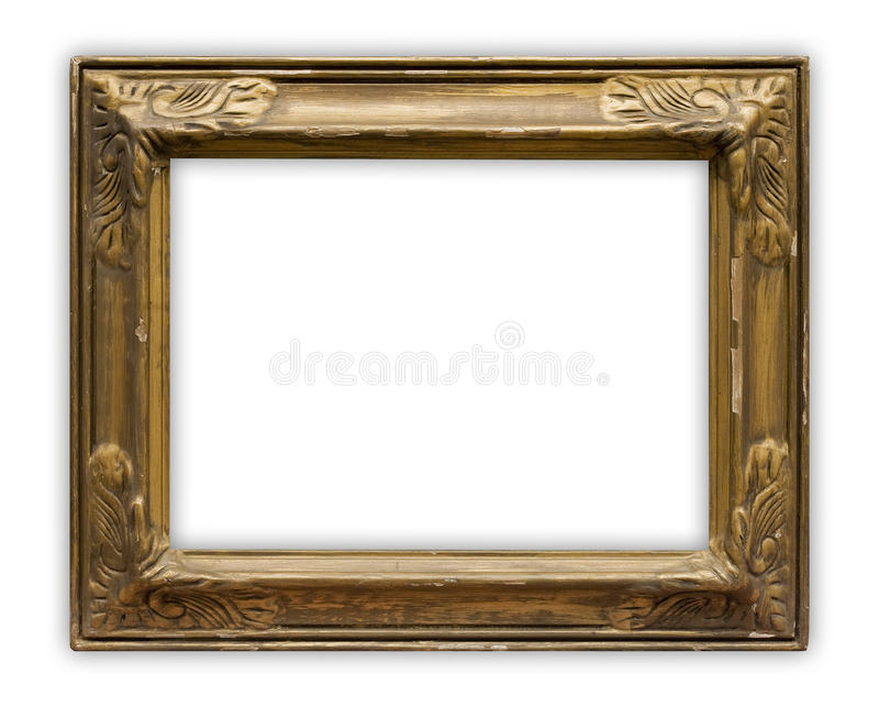 Download Painting frame stock image. Image of gold, border, ornament - 10268047