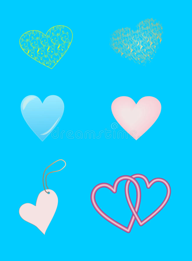 Download Painting heart stock illustration. Image of symbol, abstract - 22979113