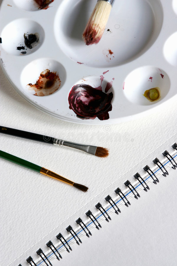 Painting kit royalty free stock photography