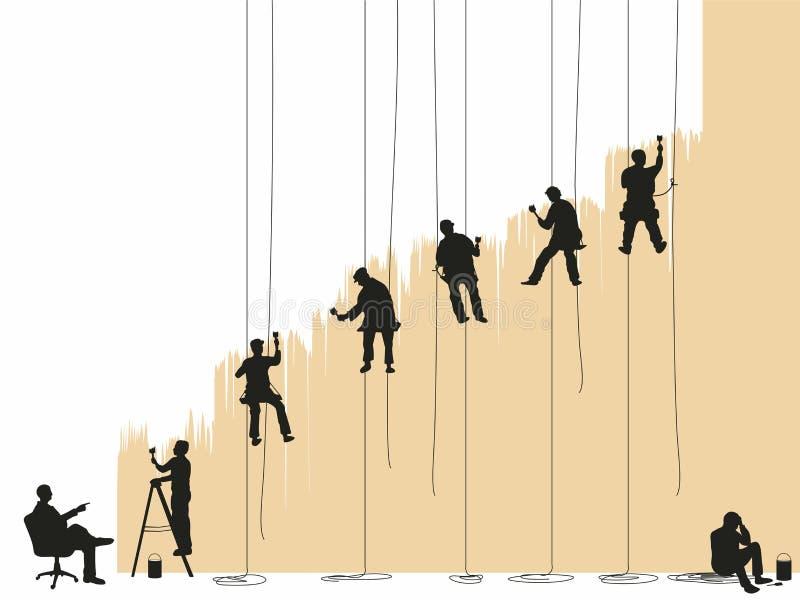 Painting stock illustration