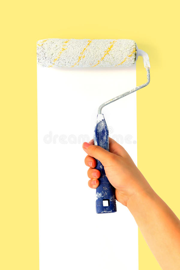 Download Painting time stock image. Image of redecorate, project - 23472295