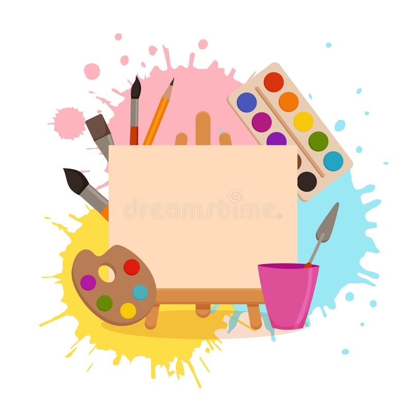 Cartoon Art Supplies Stock Illustrations 10 177 Cartoon Art Supplies Stock Illustrations Vectors Clipart Dreamstime
