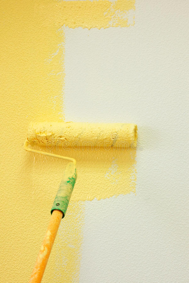 Painting Wall royalty free stock photo