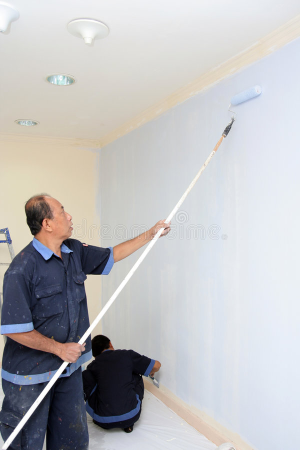 Download Painting wall stock image. Image of decore, maintenance - 5689867