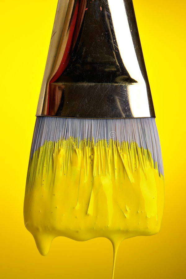 Download Painting In Yellow Royalty Free Stock Photo - Image: 1561115