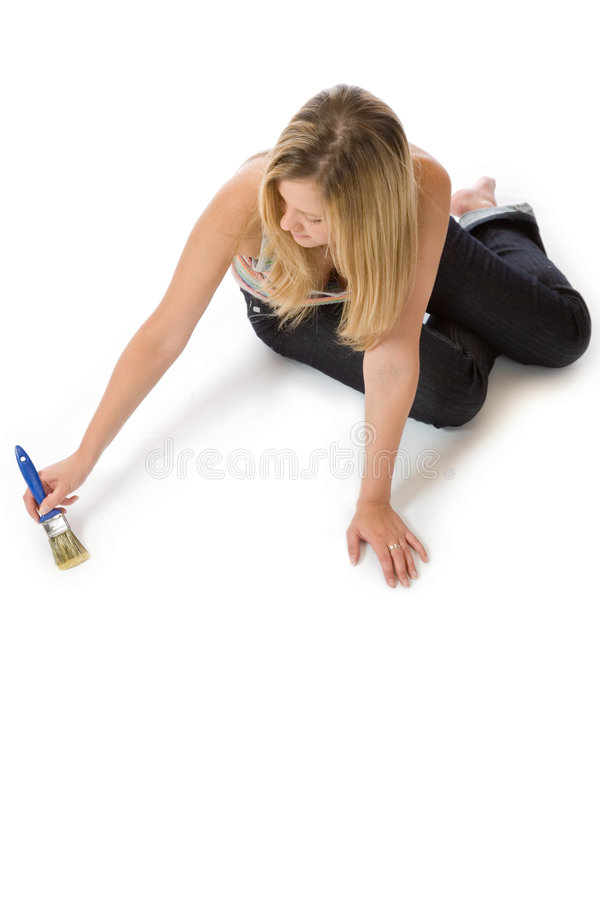 Painting - your text here stock images