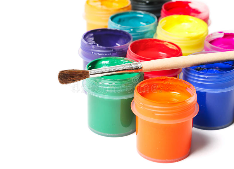Download Paints stock image. Image of multicolor, green, group - 33569813