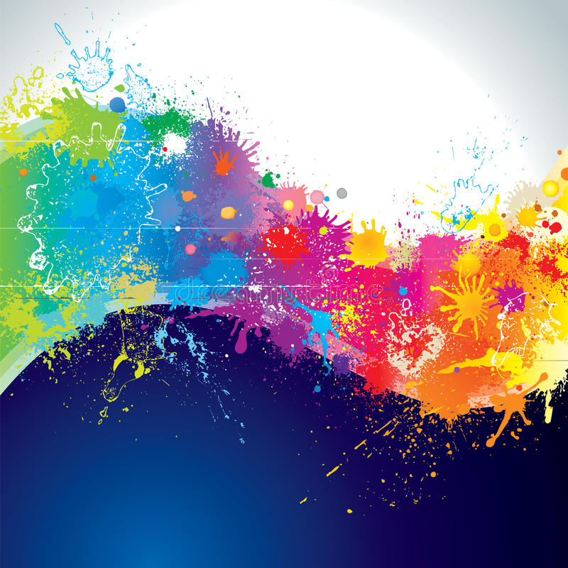 Paints Wave Royalty Free Stock Photography