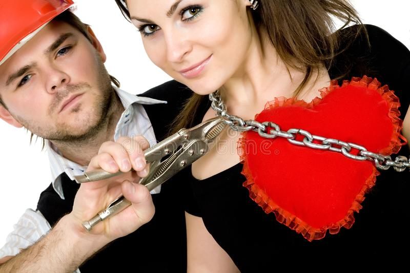 Download Pair stock photo. Image of woman, couple, face, adult - 7906694