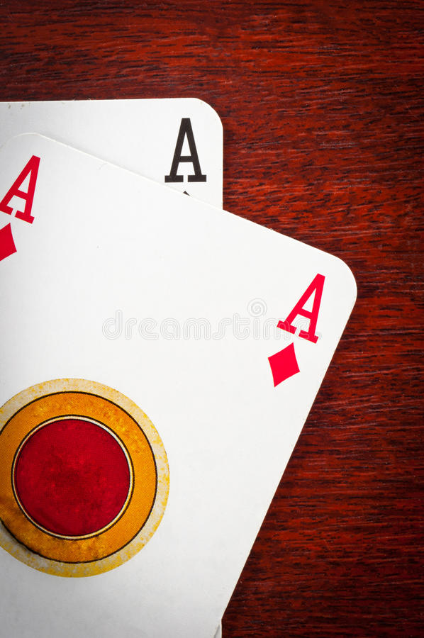 Download A pair of aces stock image. Image of flush, aces, success - 19361317