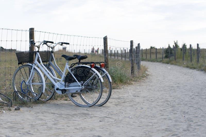 Pair of bicycles royalty free stock photos