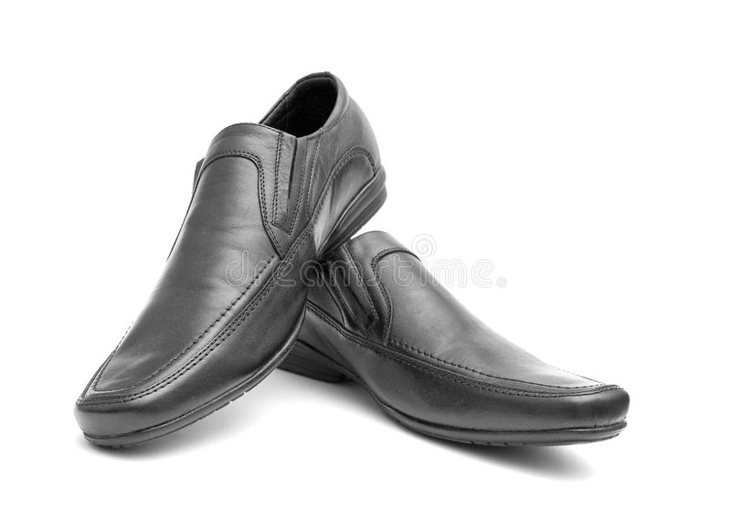 Download Pair Of Black Man's Shoes Stock Images - Image: 21467774