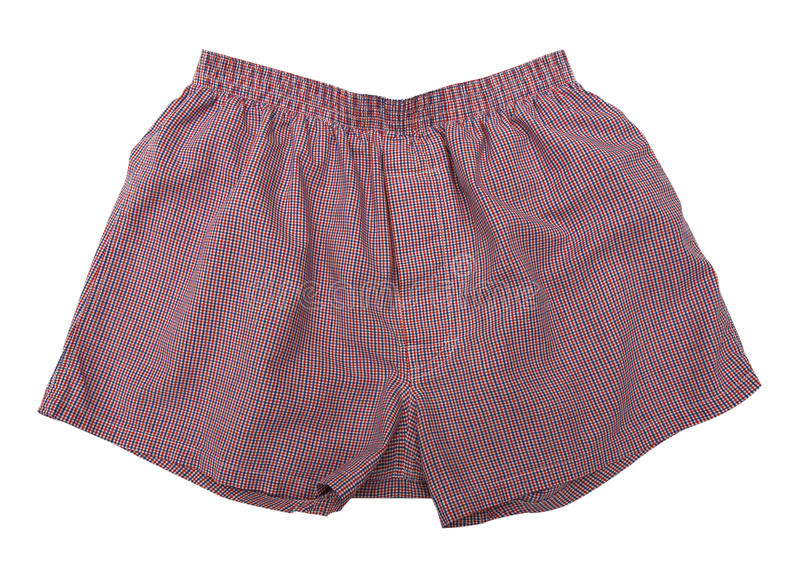 Download A Pair Of Boxer Shorts Isolated Stock Photo - Image of briefs, fabric: 39515366