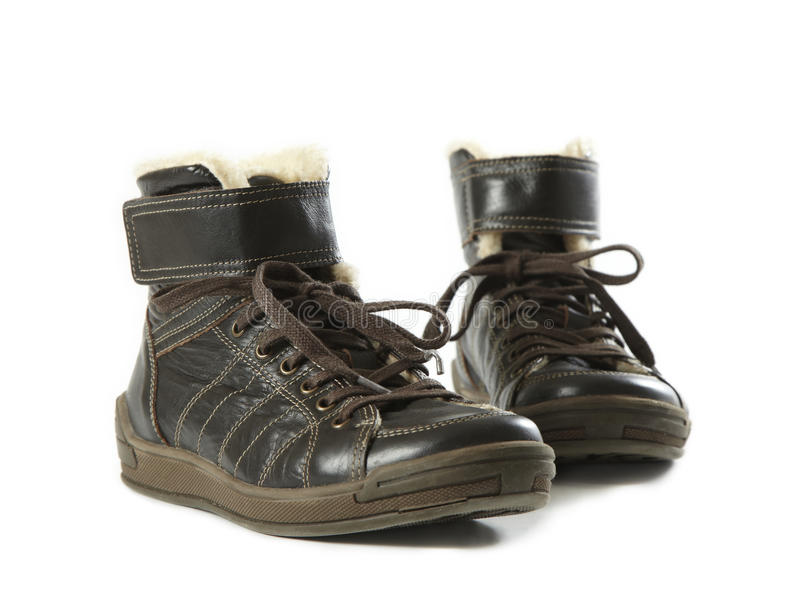 Download Pair Of Brown Boots Royalty Free Stock Photos - Image: 12430118