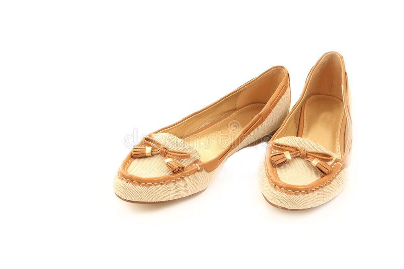 Download Pair Of Casual Ladies Shoes Stock Photo - Image: 6499232