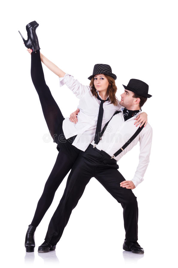 Download Pair of dancers dancing stock image. Image of ballet - 32923441