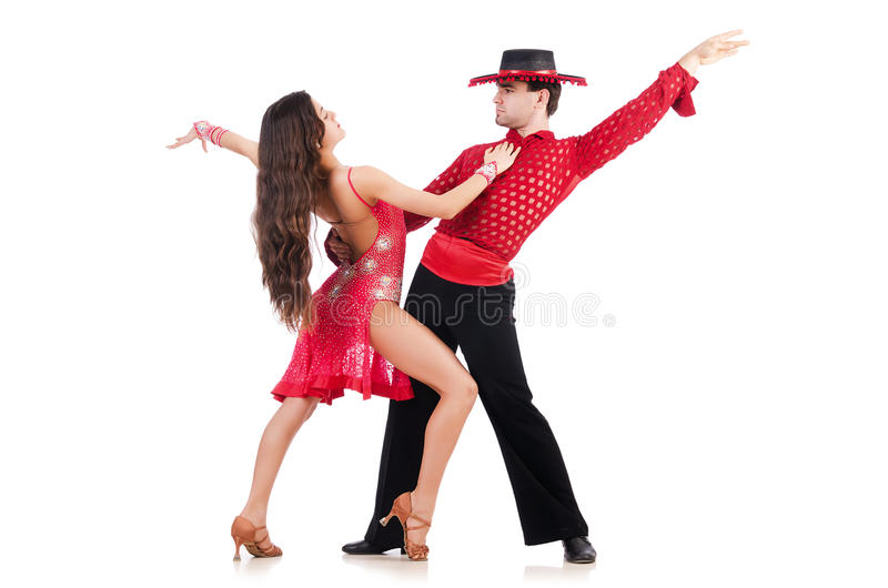 Download Pair of dancers stock image. Image of pair, disco, happiness - 30662083