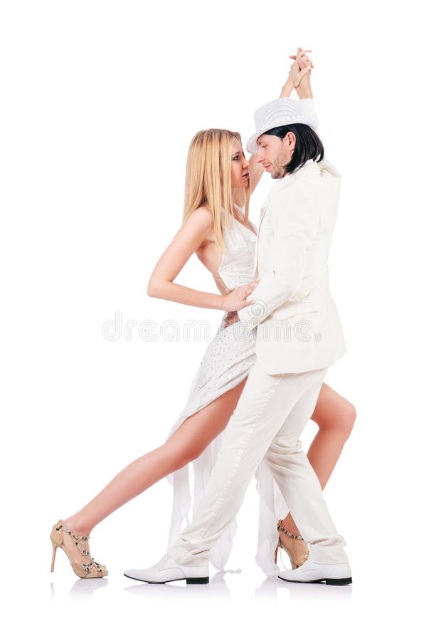 Download Pair Dancing Dances Isolated Stock Photo - Image: 28135034