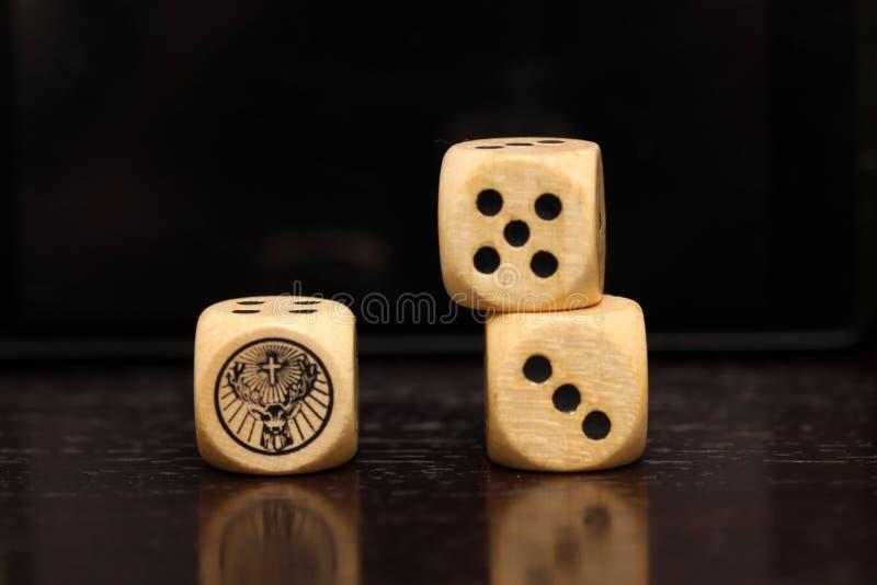 A pair of dice stock photos