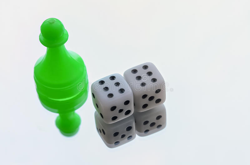 Pair of dices royalty free stock photography