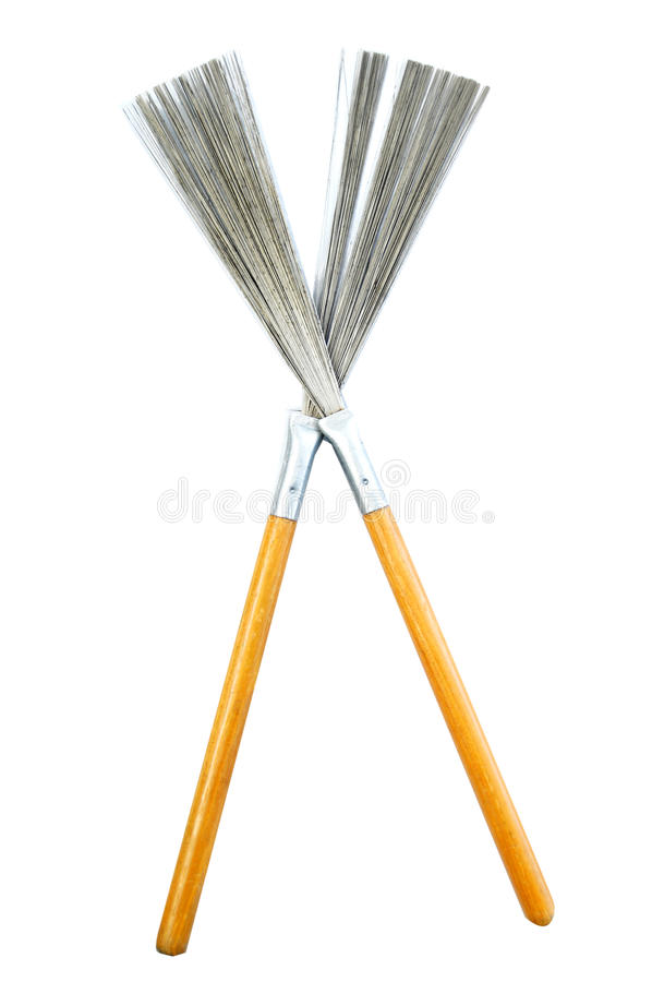 Download Pair Of Drum Brushes Royalty Free Stock Photography - Image: 11807317