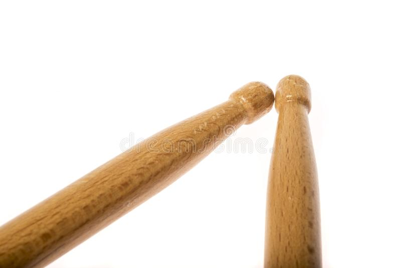 Pair of drum sticks i stock photography