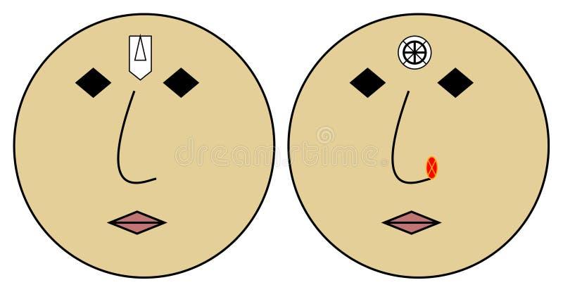 pair emoji royalty free stock photos