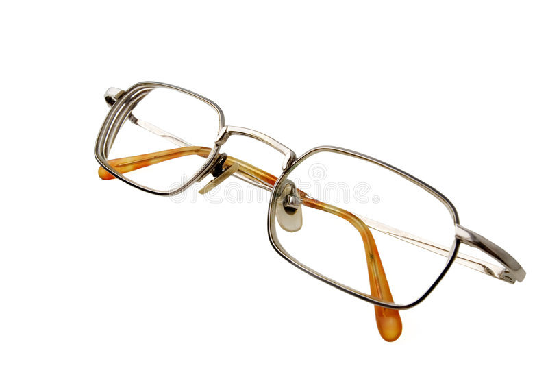 Pair of eyeglasses royalty free stock photography