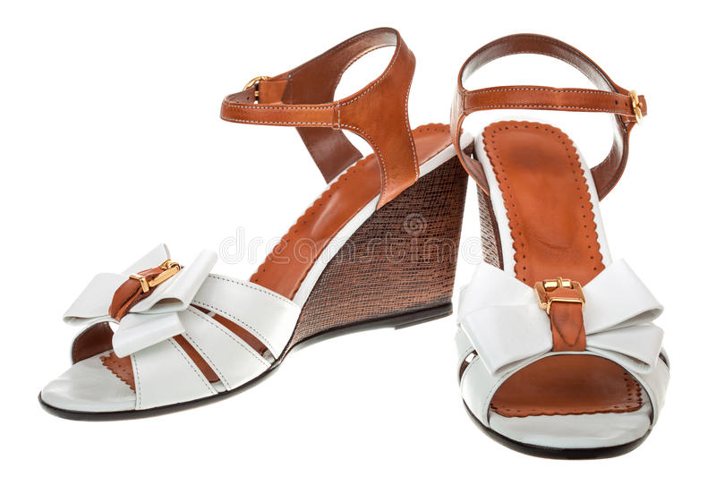 Download Pair of female sandals stock image. Image of comfortable - 28942761