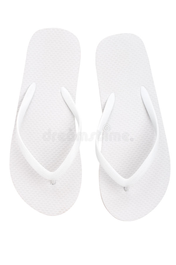 Pair of flip flops royalty free stock image