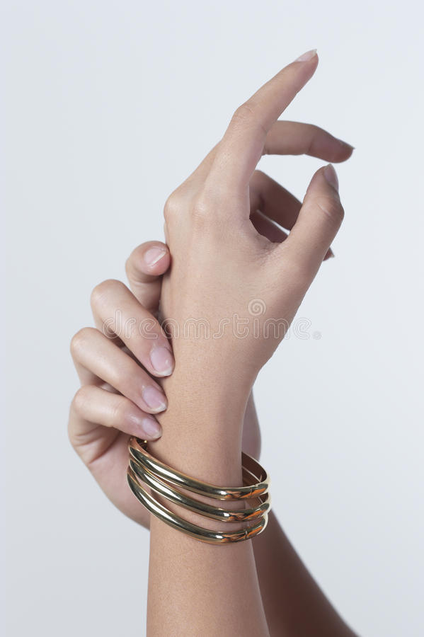 Download Pair of hand stock image. Image of accessory, smooth - 25869995