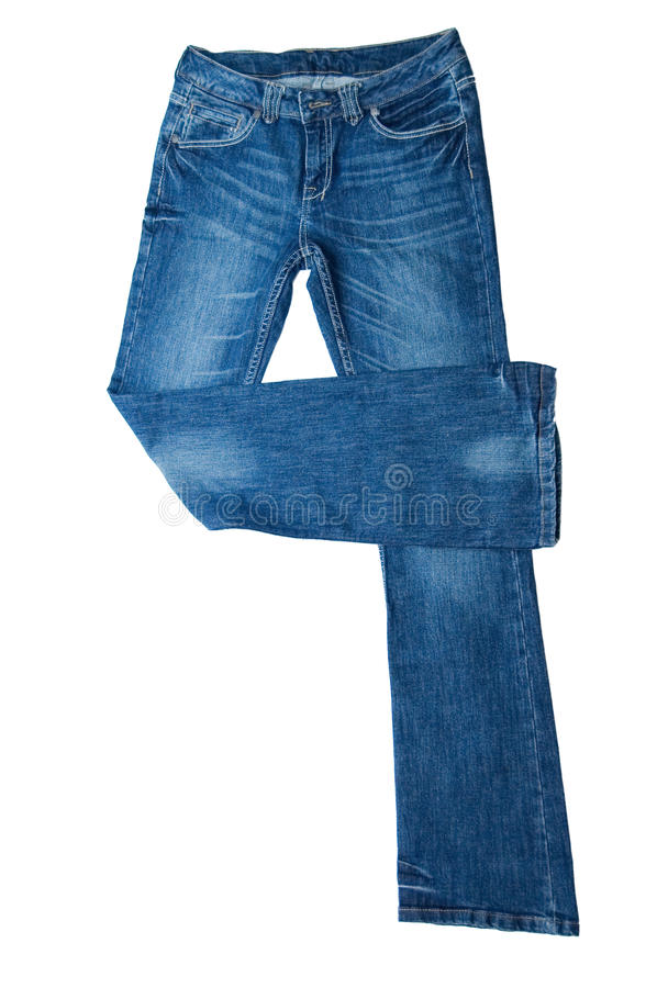 Pair of jeans stock photography