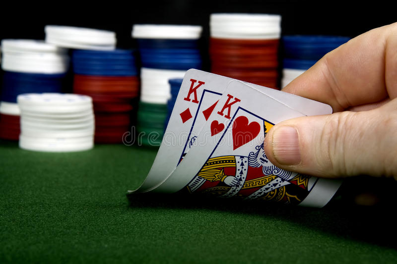 Pair of Kings stock photography