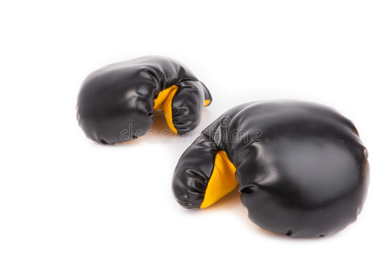 Download Pair Of Leather Boxing Gloves Royalty Free Stock Photos - Image: 37644488