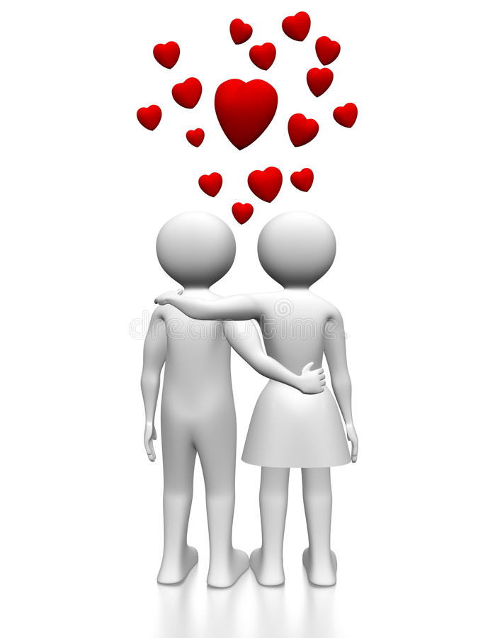 Download Pair Of Lovers Royalty Free Stock Images - Image: 18180929