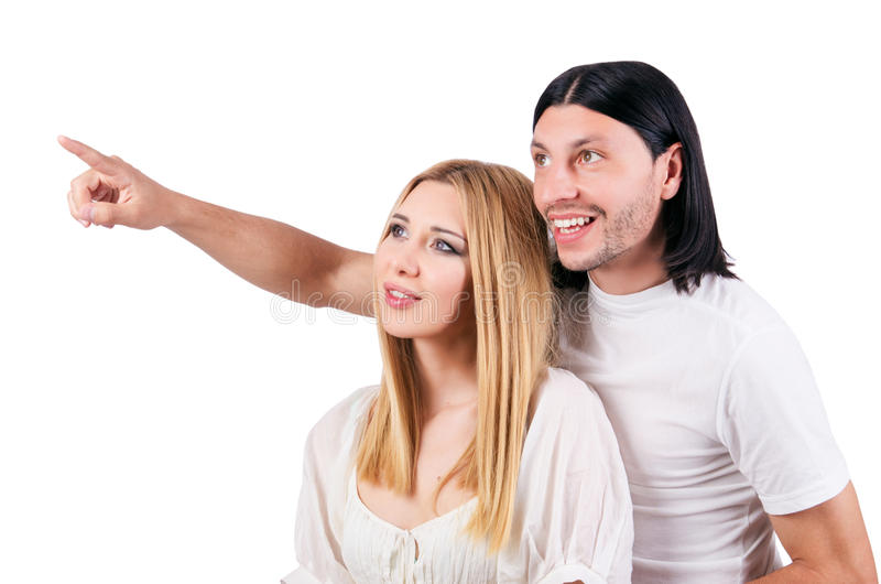 Download Pair of man and woman stock photo. Image of handsome - 28031188