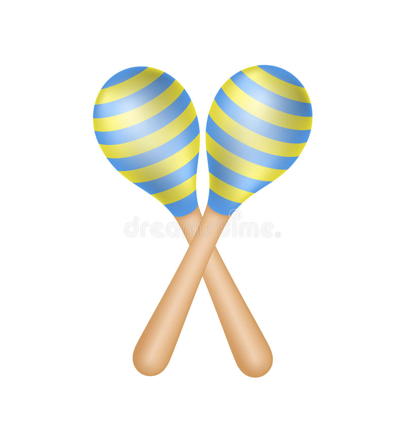 Download Pair of maracas stock vector. Illustration of couple - 25390131