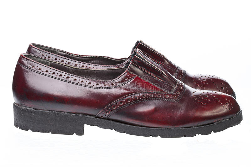 Download Pair of Men`s Shoes stock image. Image of shoes, english - 83701369
