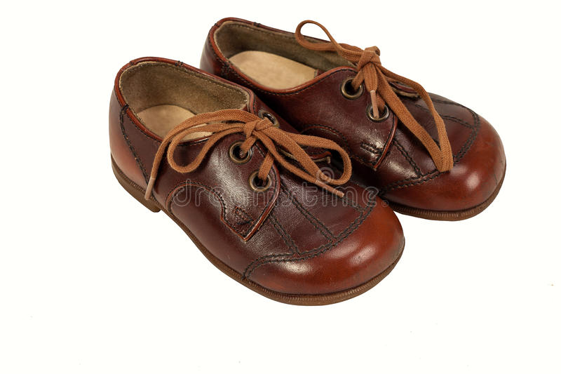Download Pair of Men`s Shoes stock image. Image of brown, wear - 83701393