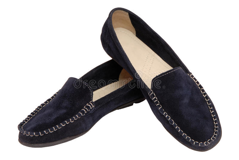 pair of moccasins stock images