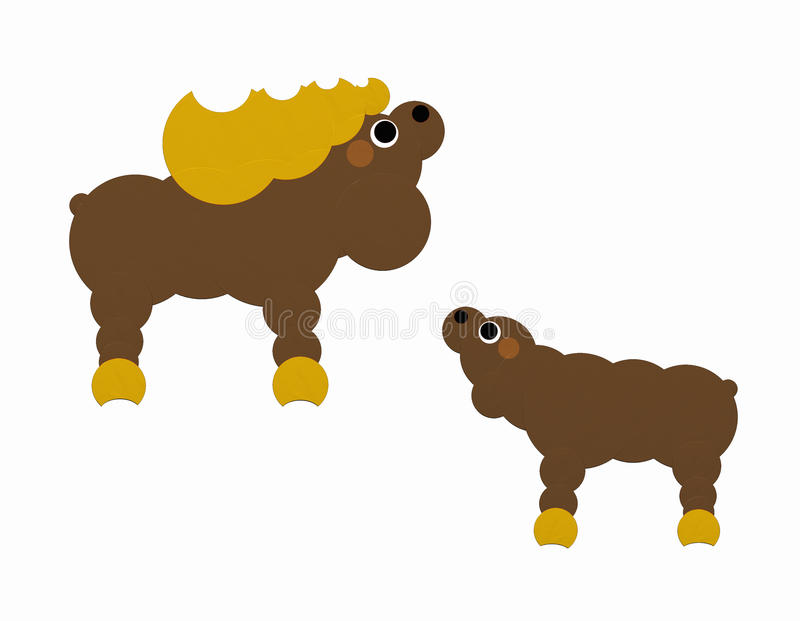 Pair of moose stock photography