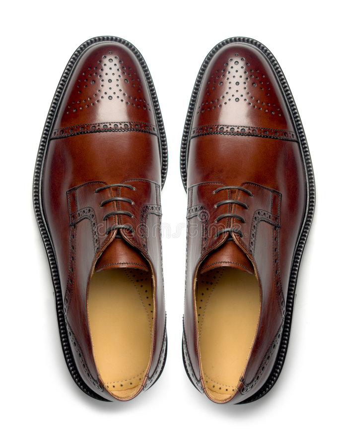 Free Pair Of Men S Shoes Royalty Free Stock Photos - 7607298
