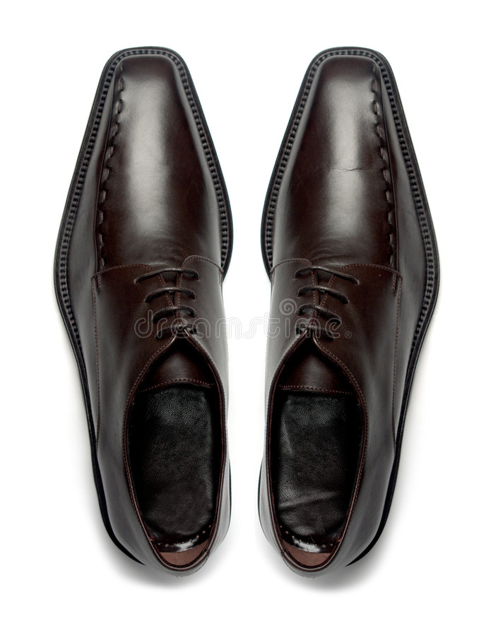 Free Pair Of Men S Shoes Stock Photography - 7607322