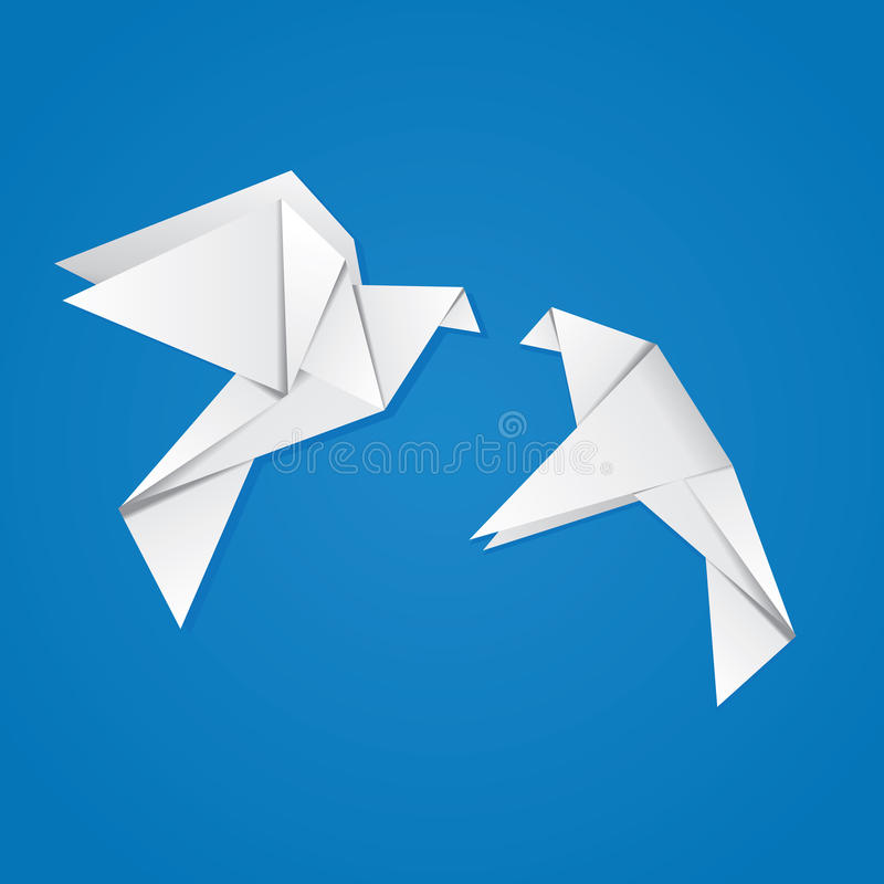 Download Pair of pigeons stock illustration. Image of gift, doves - 35243422