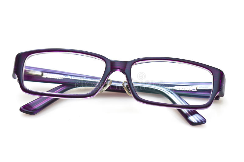 Download A pair of purple glasses stock image. Image of health - 24531585