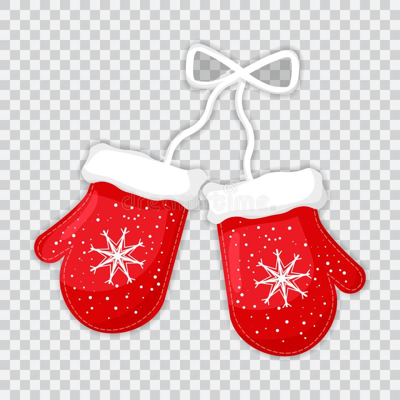 Pair Of Red Mittens - Red Kids Mittens Clipart - Full Size Clipart  (#3469927) - PinClipart