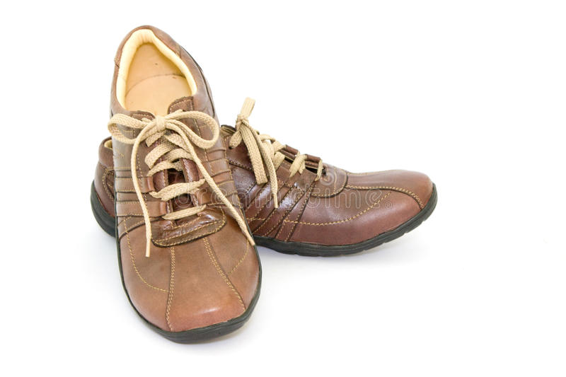 Download Pair a shoe stock photo. Image of brown, object, leather - 11659828