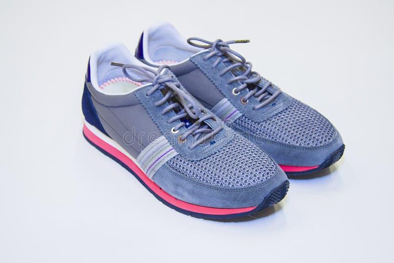pair shoes sport 图库摄影