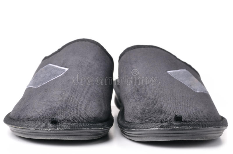 Pair Of Slippers Stock Photo