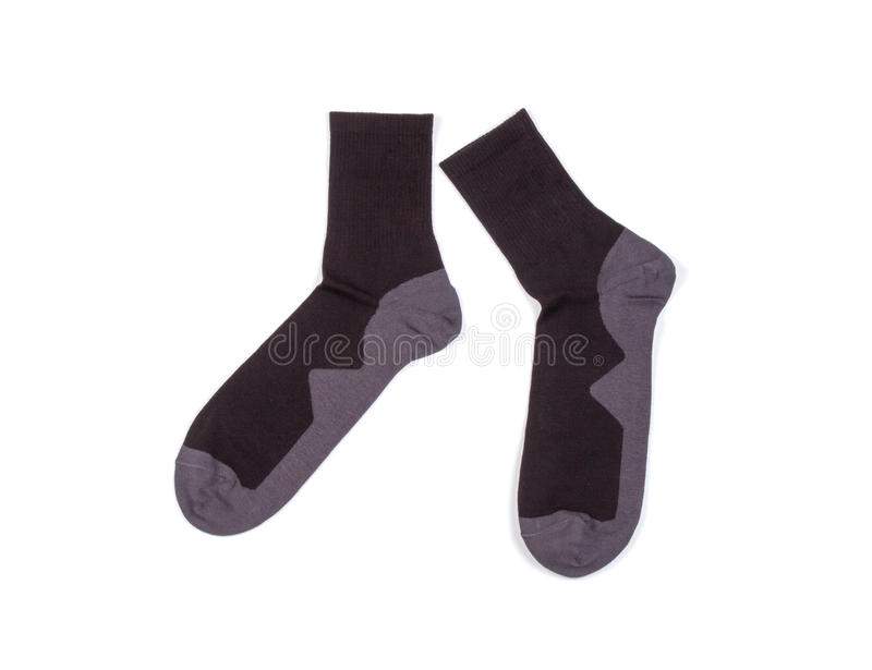 Pair of socks stock image